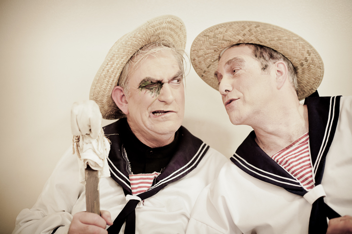 """""""I think you need a hug."""" (Backstage of """"H.M.S. Pinafore"""", an Encore! production, Jerusalem, 2012.)"""