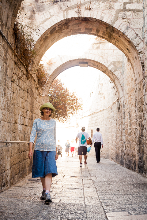 At 61, Deborah, a mother of three and grandmother of eight, decided that now was the time to make Aliyah and start over.
