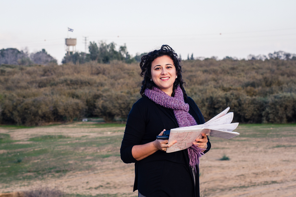 Alana T., an Environmental Hydrologist, decided to settle in the South and is now working at an environmental consulting firm in Omer, near Beer Sheva.