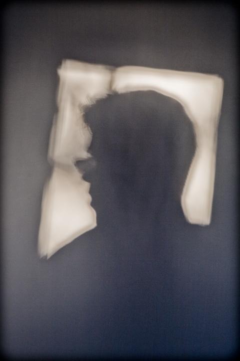 """Jerusalem Light, Personal Shadows"". Self-Portrait, 2010."