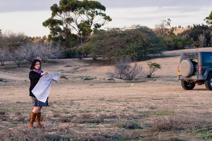 Alana in the field.
