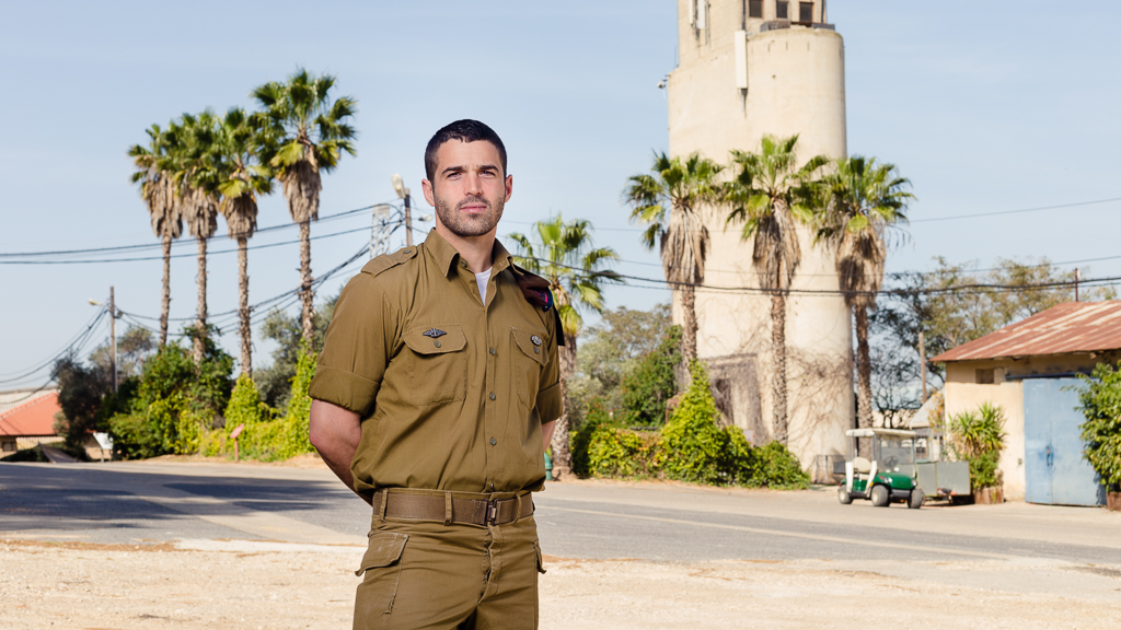 "Staff Sgt. Asaf Stein, PhD.—affectionately referred to by his peers as ""Dr. Golani""—near the end of his Army service, for which he put his medical engineering career on hold. Aliyah from the USA, 2012. Bonei Zion Prize for IDF & National Service Young Leadership, 2015."